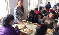 밀알학교 식당(학생에게 점심제공)